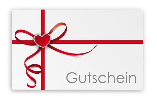 Geschenkgutscheine & Wertgutscheine